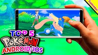 Top 5 New Pokémon Games in September 2018 (Android/IOS)