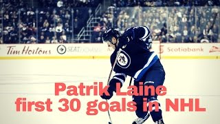 Patrik Laine #29 first 30 goals in NHL
