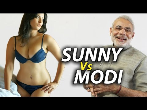 Sunny Leone beats Narendra Modi in India !