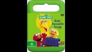 123 Sesame Street Home Video Kids Favorite Songs DVD Australian 2006