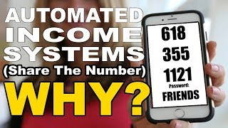 """Automated Income System Review, and Exactly How To make money online with """"Share The Number"""""""