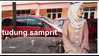 Tudung Samprit: A Ridiculously  Simple & Easy Hijab Tutorial #Samprit