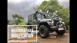 Mahindra Thar Modification | CRDe 4X4
