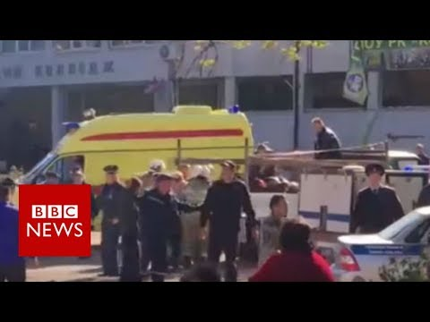 Xxx Mp4 Kerch Blast Crimea College Bomb Kills 10 BBC News 3gp Sex