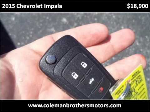 2015 Chevrolet Impala Used Cars Bowling Green KY