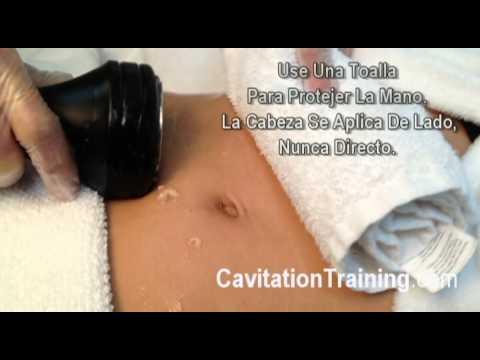 La Tecnica Correcta de Hacer Ultra Cavitacion Capitulo 1 del Video CavitationTraining .avi