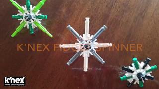 Build-A-K'NEX Fidget Spinner!