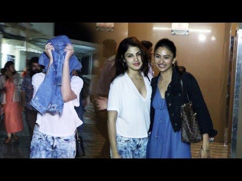 Xxx Mp4 Rhea Chakraborty And Rakul Preet Singh Spotted At Juhu Pvr 3gp Sex