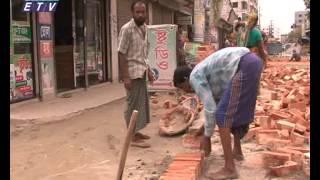 Suffering Shah Kabir Majar Road Uttara- Ekushey Television-By Akhil Podder