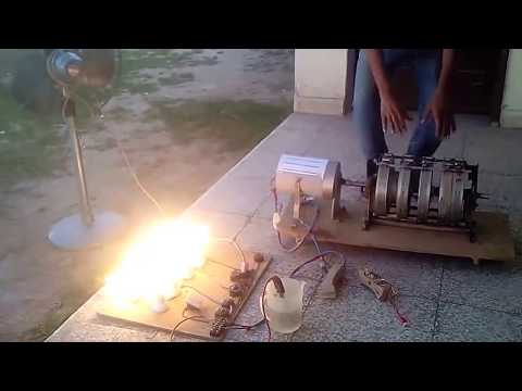 Pakistani Claims to Invent free Electric Generator  Part 2