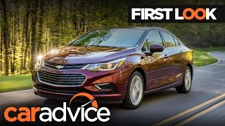 2017 Chevrolet Cruze (Holden Astra) sedan First Look Review | CarAdvice