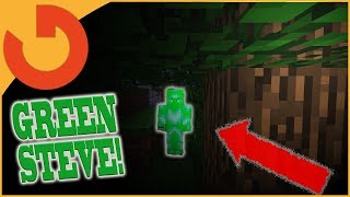 I SAW GREEN STEVE ON MY MINECRAFT SERVER! (Very Scary!)