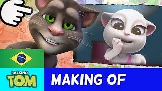 Meu Talking Tom - Bastidores Curtas 3