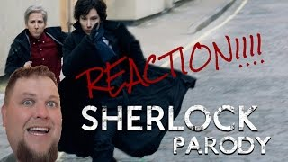 Sherlock Parody by The Hollywood Show REACTION!!!