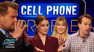Cell Phone Profile w/ Evan Rachel Wood, Mike Birbiglia & Melissa Benoist
