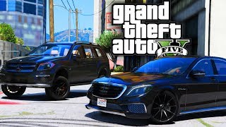 Mercedes Benz S550 & Lifted Offroad GL63! - GTA 5 Real Hood Life 2 - Day 58