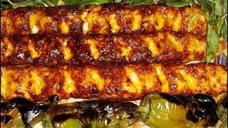 آموزش آسانترین وخوشمزه ترین کباب کوبیده با گوشت مرغ وبادوروش پخت از مامان تی وی