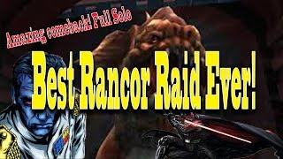 SWGOH: How to Solo Entire Rancor Raid on Autoplay! (Without CLS)