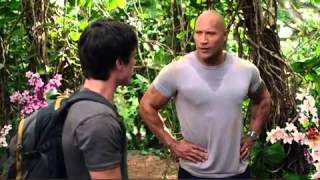 The Rock Pumping his Chest ( journey to the centre of the Earth 2 )