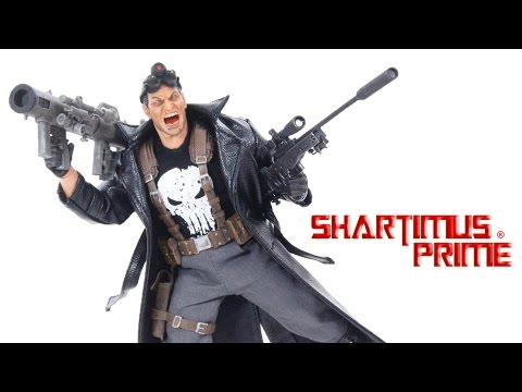 Mezco Toyz Punisher Fully Loaded Deluxe PX Exclusive ONE:12 Collective Marvel Figure Review
