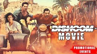 Dishoom Movie (2016) | John Abraham, Varun Dhawan, Jacqueline Fernandez | Promotional Events