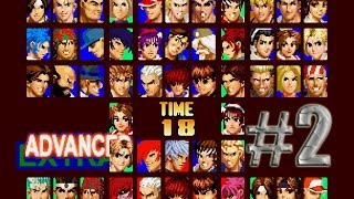 Arcade Gameplay [23] The King Of Fighters 97 Hack Version