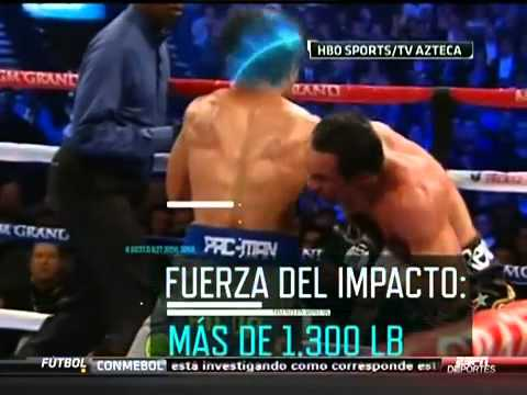 Knock out Pacquiao Analisis cientifico