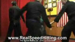 Speed Slicing Knife Fighting  Part I, Dr. John La Tourrette