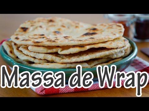 MASSA DE WRAP - Pão folha I Receitas e Temperos