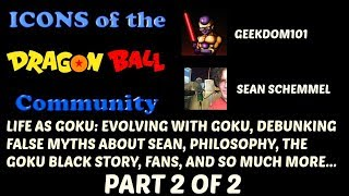 SEAN SCHEMMEL INTERVIEW PART 2 of 2: LIFE AS GOKU, Career Retrospective, Debunking Myths, + more