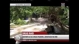 Kilabot na drug pusher sa Bulacan, arestado