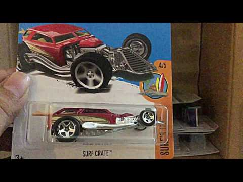 Unboxing - Hot Wheels Case E 2017