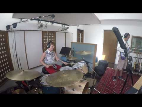 6/8 Drum solo in the studio