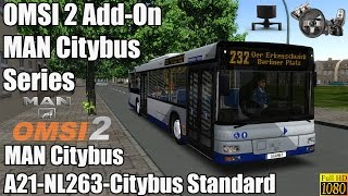 OMSI 2 - Add-On MAN Citybus Series - A21 NL263 Citybus Standard