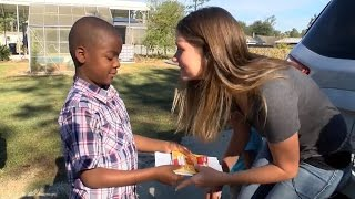 8-Year-Old Boy Travels 12 Hours To Bring Toys To A Family Who Lost Everything