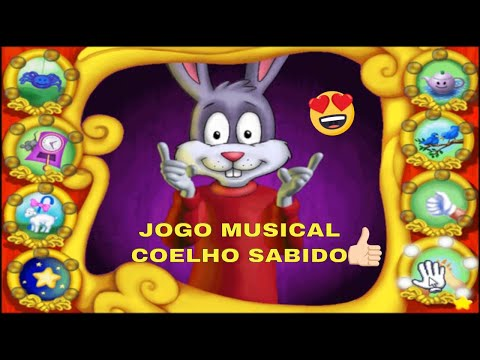 COELHO SABIDO JOGO EDUCATIVO PARA CRIANÇAS Reader Rabbit Toddler