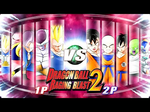 Dragon Ball Z Raging Blast 2 - Random Characters 10 (What If Battle)
