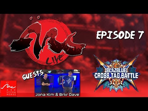 Xxx Mp4 ARC Live Episode 7 Jona Kim Brkr Dave Play BlazBlue Cross Tag Battle For The First Time 3gp Sex