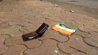Money vs Indian Flag | Social Experiment | Shocking Truth |