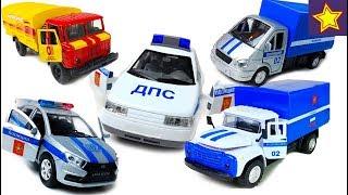 Машинки Технопарк Сборник лучших серий с историями Cars Toys for kids