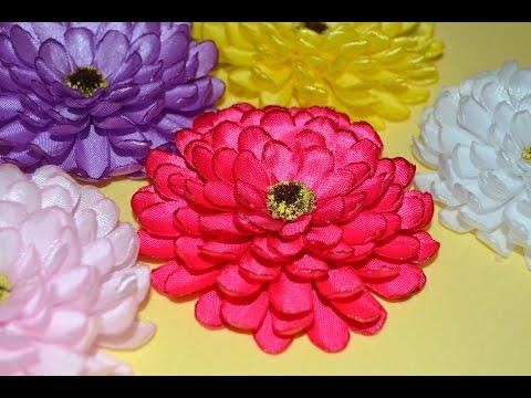 Цветы на резинку видео