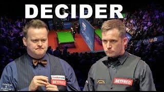 DECIDER Murphy v Jones R1 2018 World Championship Snooker