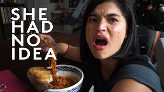 4X NUCLEAR SPICY KOREAN NOODLE CHALLENGE ft. Anne Curtis Smith