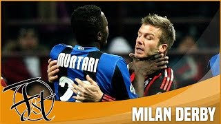 The dirty side of Milan Derby: Fights, Red Cards, Dives & Fouls!