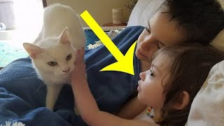 After This Blind Girl s Cat Ran Away, Her Mom Saw A Photo Of The Kitty In The Arms Of A Stranger