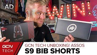 GCN Tech Unboxing: NEW ASSOS S9 Bib Shorts