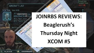 Beaglerush Thursday Night XCOM | JoINrbs Reviews Week Five: Down at the Ground