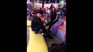 McRis Showtime BTS snaps (c) Zeus - Maris Racal & Mccoy De Leon [30.04.16]