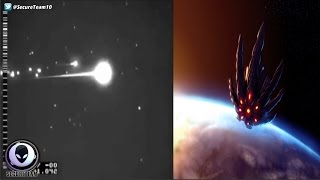 LEAKED Clip Of Alien Satellite Being Shot Down? 3/19/17