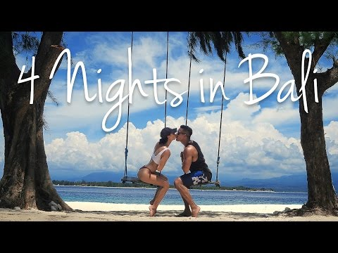 4 NIGHTS IN BALI Uluwatu Ubud Gili Meno & Seminyak 2017